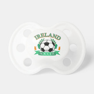 Diseños del balón de fútbol de Irlanda Chupetes De Bebe