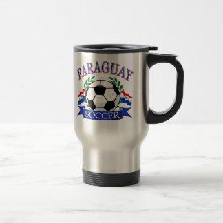 Diseños del balón de fútbol de Paraguay Taza