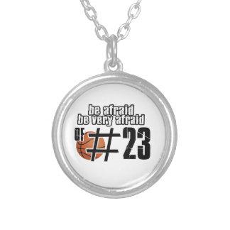Diseños del baloncesto del número 23 pendiente personalizado