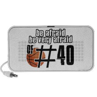 Diseños del baloncesto del número 40