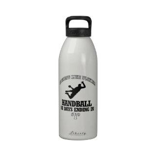 diseños del balonmano botella de agua