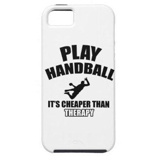 Diseños del balonmano iPhone 5 fundas