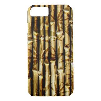 Diseños del bambú funda iPhone 7