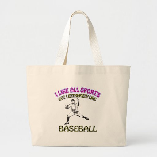 Diseños del béisbol bolsa