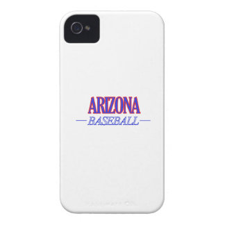 DISEÑOS del béisbol de Arizona Carcasa Para iPhone 4