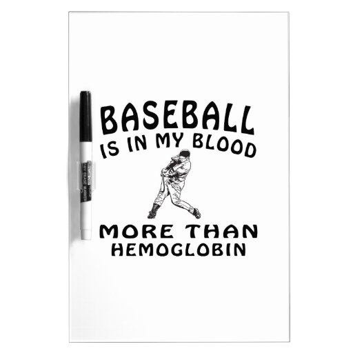 Diseños del béisbol tablero blanco