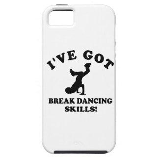 Diseños del break dance funda para iPhone SE/5/5s