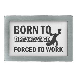 Diseños del break dance hebilla cinturon