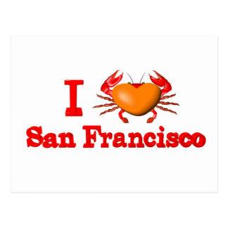 Diseños del cangrejo de los acontecimientos de tarjetas postales