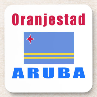 Diseños del capital de Oranjestad Aruba Posavaso