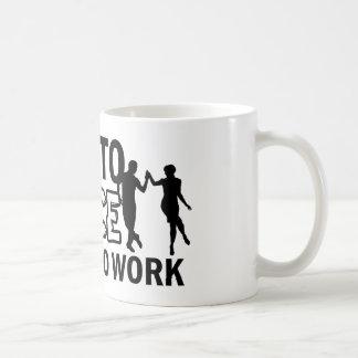 diseños del cha-cha-cha taza de café