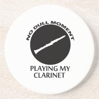 diseños del clarinet posavasos personalizados