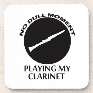 diseños del clarinet posavasos de bebida