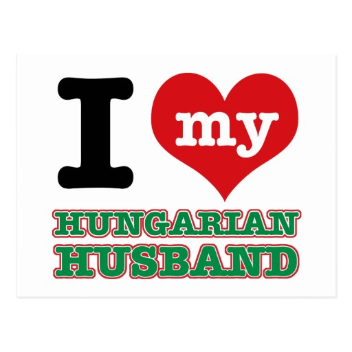 Diseños del corazón del húngaro I Postales