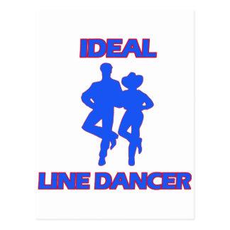 diseños del cuerpo de baile tarjetas postales