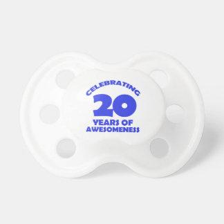DISEÑOS DEL CUMPLEAÑOS DE 20 AÑOS CHUPETE DE BEBE