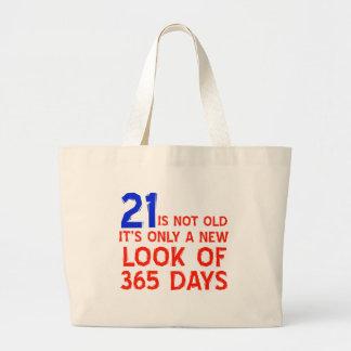 diseños del cumpleaños de 21 años bolsas de mano