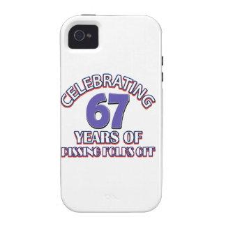 diseños del cumpleaños de 27 años Case-Mate iPhone 4 fundas