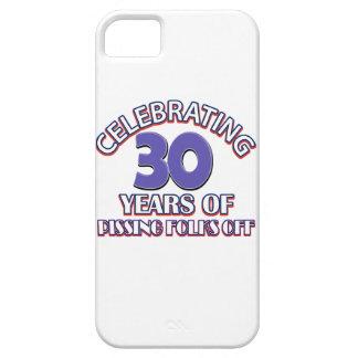 diseños del cumpleaños de 30 años iPhone 5 protector
