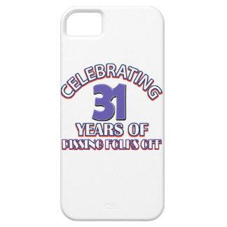 diseños del cumpleaños de 31 años iPhone 5 Case-Mate protectores