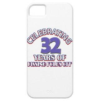 diseños del cumpleaños de 34 años iPhone 5 carcasa
