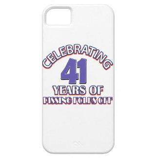 diseños del cumpleaños de 41 años iPhone 5 coberturas