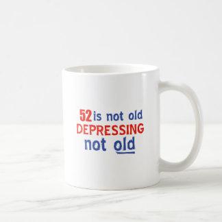 diseños del cumpleaños de 52 años taza