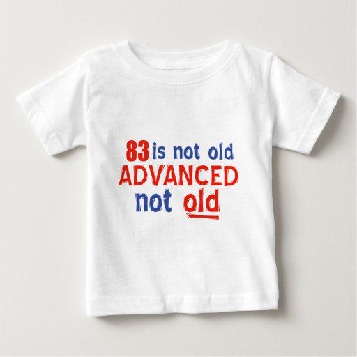 diseños del cumpleaños de 83 años polera