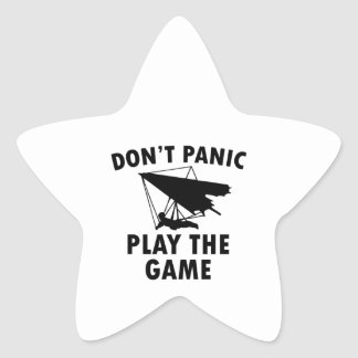 Diseños del deslizamiento de la caída pegatina en forma de estrella