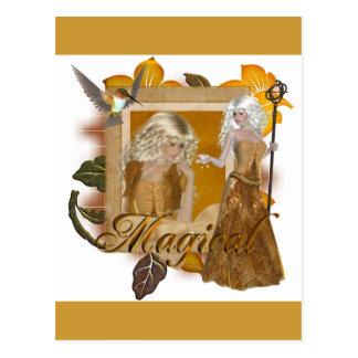 Diseños del duende:: Mágico por MarloDee Postal