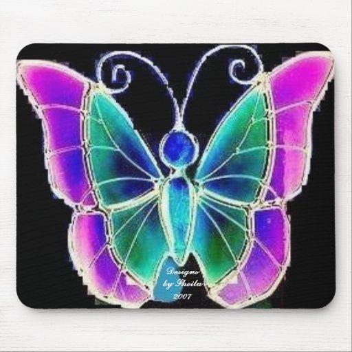 Diseños del efecto mariposa de Sheila 2007 Tapete De Ratón