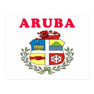 Diseños del escudo de armas de Aruba Postales