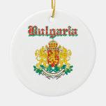 Diseños del escudo de armas de Bulgaria del Grunge Ornamento De Reyes Magos