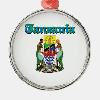 Diseños del escudo de armas de Tanzania del Grunge Ornato