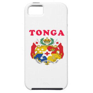 Diseños del escudo de armas de Tonga iPhone 5 Cárcasas