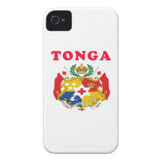 Diseños del escudo de armas de Tonga iPhone 4 Protectores