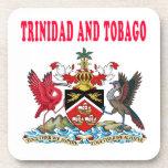 Diseños del escudo de armas de Trinidad and Tobago Posavasos De Bebida