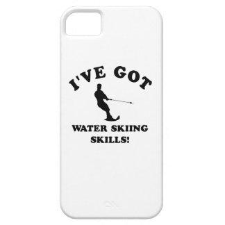 Diseños del esquí acuático y artículos del regalo iPhone 5 fundas