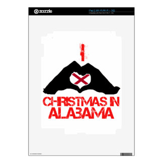 Diseños del estado de Alabama Skin Para El iPad 2