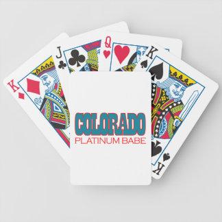 Diseños del estado de Colorado Cartas De Juego