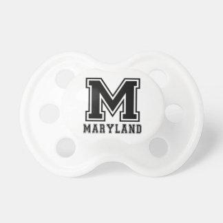 Diseños del estado de Maryland Chupete De Bebé