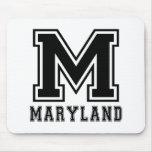 Diseños del estado de Maryland Alfombrillas De Ratón