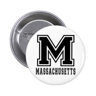 Diseños del estado de Massachusetts Pin