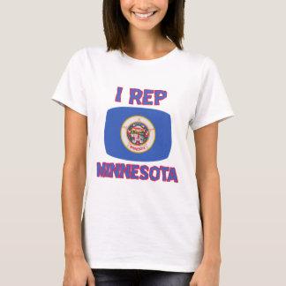 Diseños del estado de Minnesota Playera