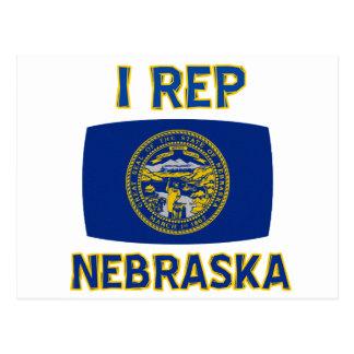 Diseños del estado de Nebraska Postales