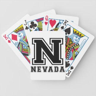Diseños del estado de Nevada Baraja Cartas De Poker