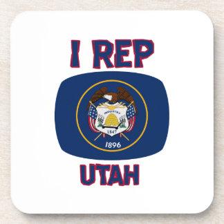 diseños del estado de Utah Posavasos