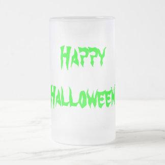 Diseños del feliz Halloween del decano de Ché Taza De Cristal