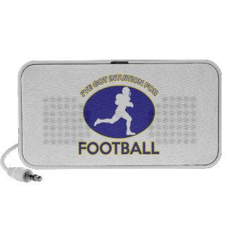 diseños del fútbol iPhone altavoces