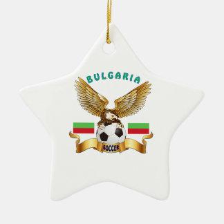 Diseños del fútbol de Bulgaria Adorno De Cerámica En Forma De Estrella
